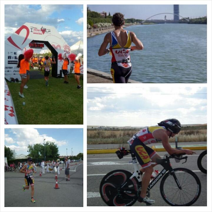 tres modalidades deportivas natación bici y carrera a pie